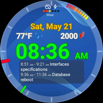 Ultrawatch Free Watch Face screenshot 1