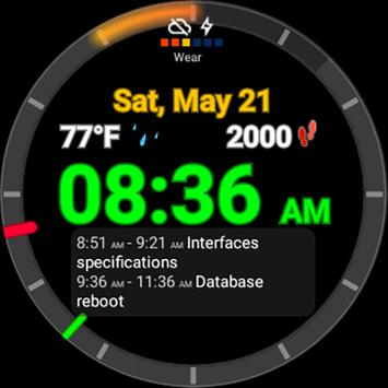 Ultrawatch Free Watch Face screenshot 2
