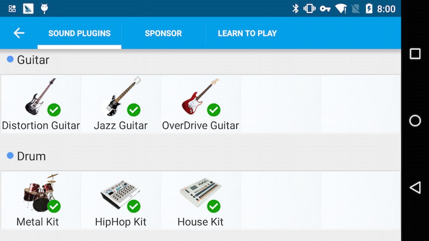 overdrive guitar effect plugin for android apk download. Black Bedroom Furniture Sets. Home Design Ideas