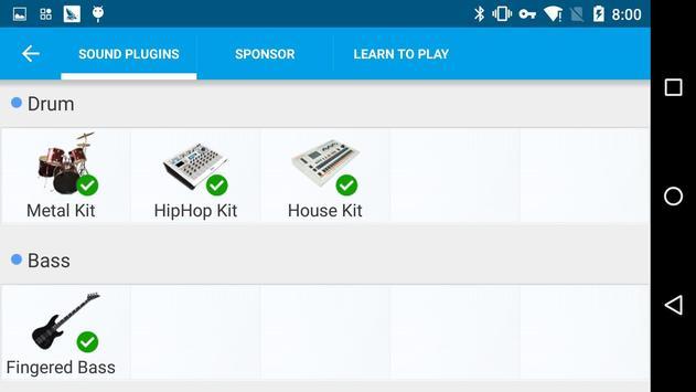 Metal Kit Sound Effect Plug-in screenshot 5
