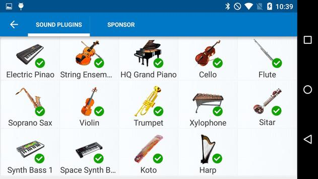 Harp Sound Effect Plug-in screenshot 4