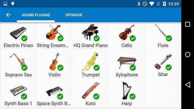 Harp Sound Effect Plug-in screenshot 7