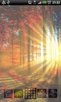 autumn forest live wallpaper apk screenshot