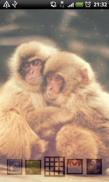baby monkey live wallpaper screenshot 3