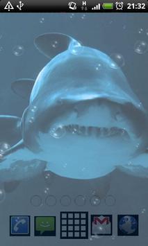 أسماك القرش LWP تصوير الشاشة 3