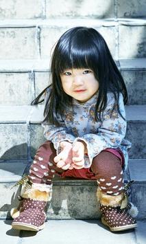 cute kids wallpaper poster