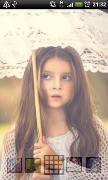 umbrella girl lwp apk screenshot