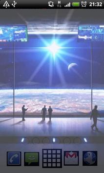 wallpaper space station screenshot 3