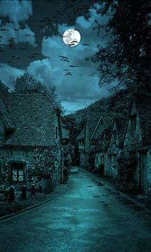night sky wallpaper poster
