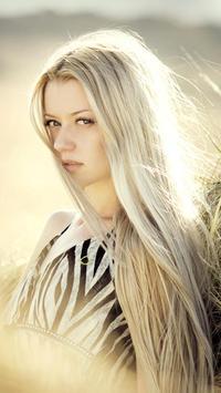LWP Блондинка постер
