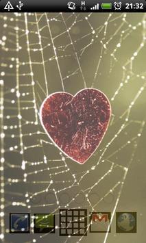spider web wallpaper screenshot 3