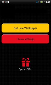 Yellow Fish Live Wallpaper apk screenshot