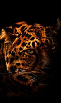 Leopard Silhouette LWP poster