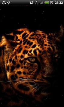 Leopard Silhouette LWP screenshot 3