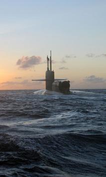 US Military Submarine LWP poster