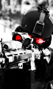 Sniper Live Wallpaper poster