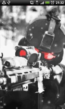 Sniper Live Wallpaper screenshot 3