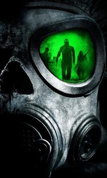 Army Gas Mask Live Wallpaper poster