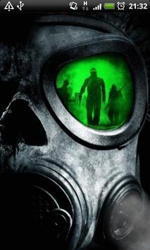 Army Gas Mask Live Wallpaper screenshot 3