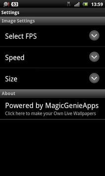 LWP noir girl apk screenshot