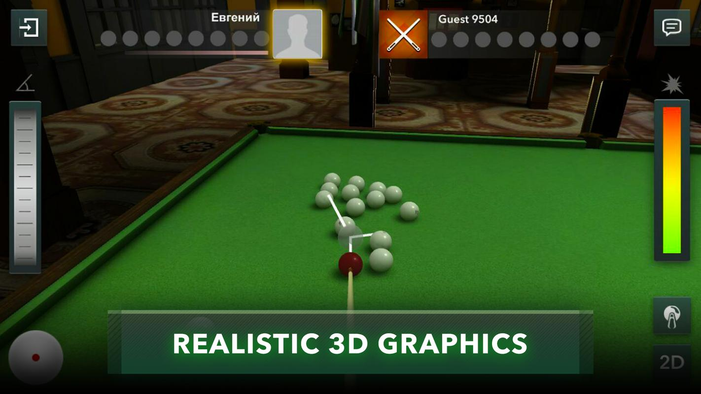 8 Ball Pool Online Multiplayer Snooker Billiards Poster