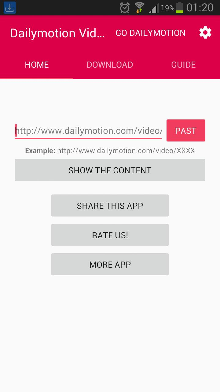 Downloader For Dailymotion Pro for Android - APK Download
