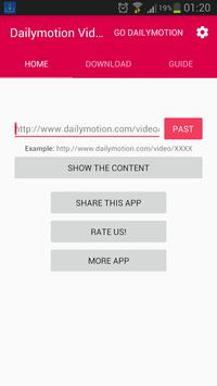 Downloader For Dailymotion Pro poster