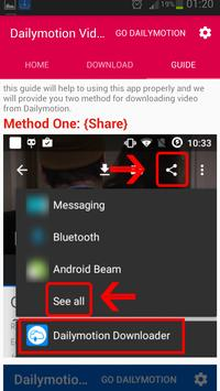 Downloader For Dailymotion Pro apk screenshot