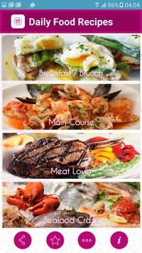 Daily Food Recipes poster