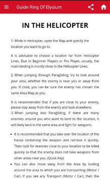 Guide Ring Of Elysium screenshot 1