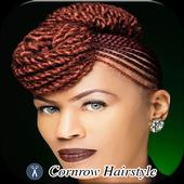 Cornrow Hairstyle icon