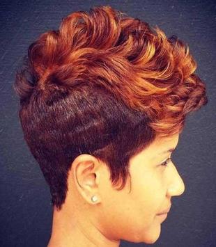 Short Black Women Haircuts syot layar 3