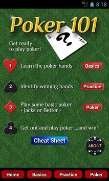 Poker 101 poster