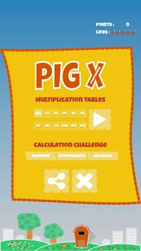 PigTimes - Times Tables Game screenshot 2