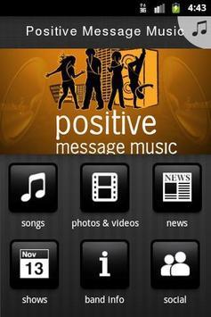 Positive Message Music screenshot 1