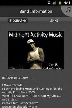 Midnight Activity screenshot 3