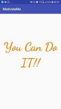 MotivateMe poster