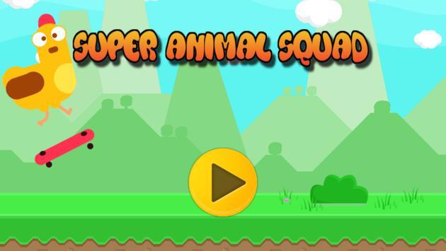 🐔 Animal Super Squad 🐔 poster
