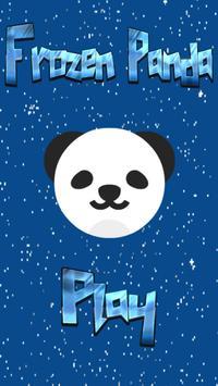 Frozen Panda! poster