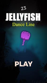 Jellyfish Dance Line poster