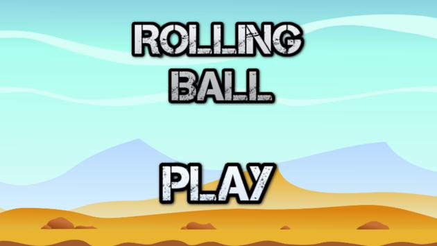 Poster Rolling Ball