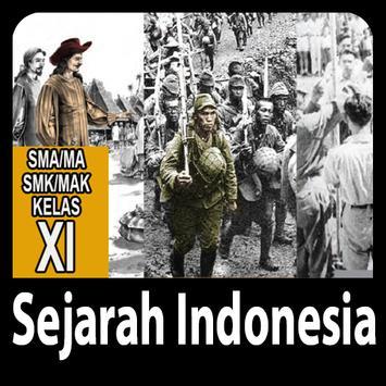 Sejarah Indonesia Kelas 11 poster