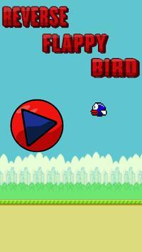 Reverse Flappy Bird poster
