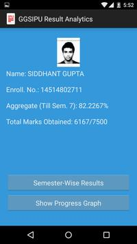 GGSIPU Result Analytics apk screenshot