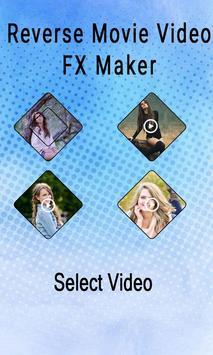 Reverse Movie Video FX Maker screenshot 1