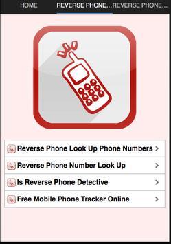 Reverse Phone Number screenshot 1