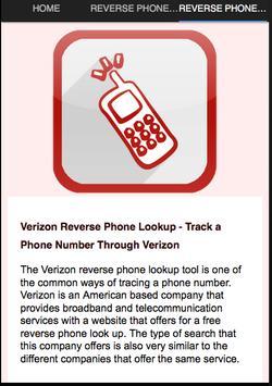 Reverse Phone Number screenshot 2
