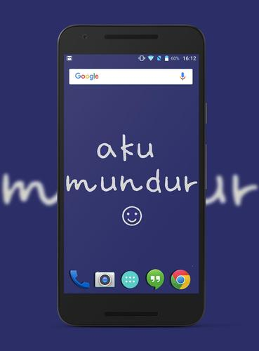 Dp Bbm Aku Mundur Terbaru For Android Apk Download