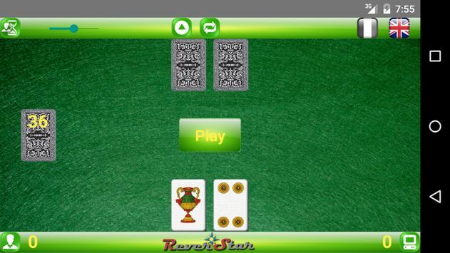 SetteMezzo apk screenshot