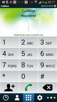 CallBlue iTel poster